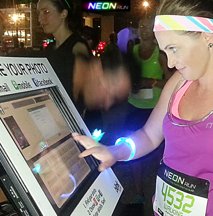 Neon Run generates instant Social Media amplification
