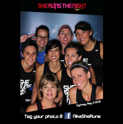 Nike uses Social Media Booth technology as part of She Runs the Night