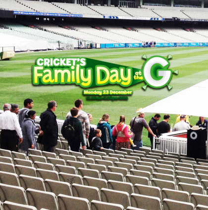 Cricket Australia's MCG Social Media Booth