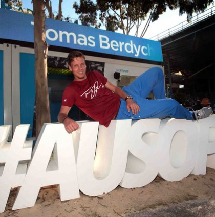 BL!NK Republic Social Media Booth technology features in the Social Shack at the Australian Open #AUSOPEN