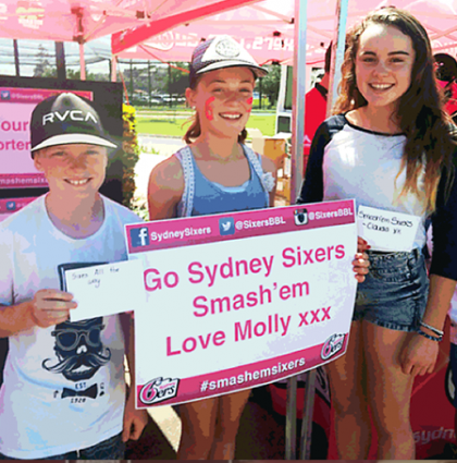 Sydney Sixers Fan Day