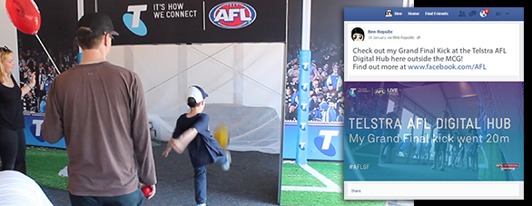 AFL Social Video Booth 3