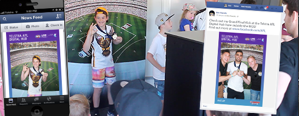 AFL Social Video Booth 4