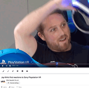 PlayStation VR launch goes viral with Social Video Booth